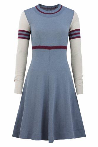 Classic S dress - smoke blue (dress)