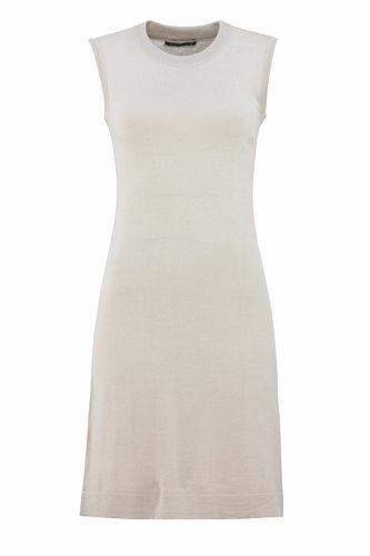 Classic T dress - beige (dress)
