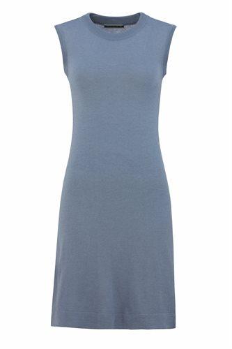 Classic T dress - smoke blue (dress)