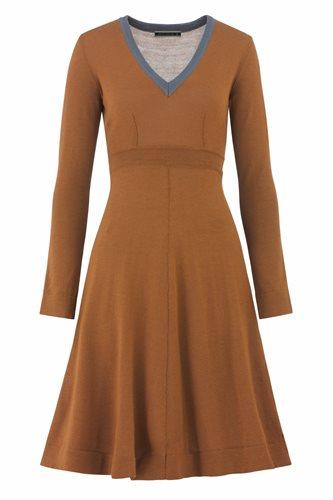Classic V dress - nutmeg (dress)