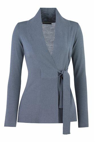 Classic W jacket - smoke blue (jacket/cardigan)