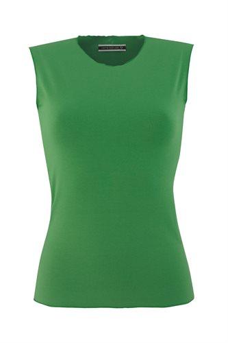 Classic Jersey singlet - green (top)