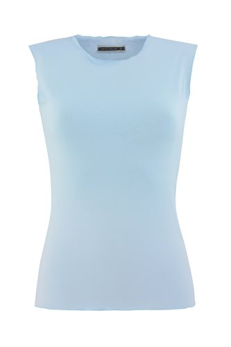 Classic Jersey singlet - ice blue (top)