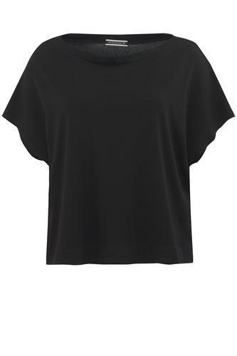 Classic Jersey tee - black - black (top)