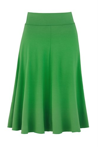 Classic Jersey skirt - green (skirt)