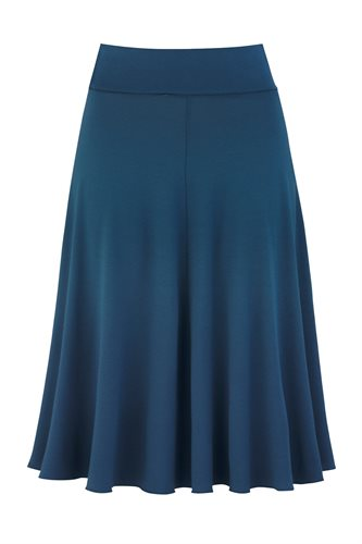 Classic Jersey skirt - majolica blue (skirt)