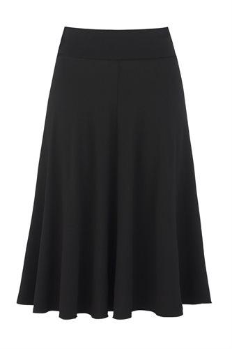 Classic Jersey skirt - black - black (skirt)