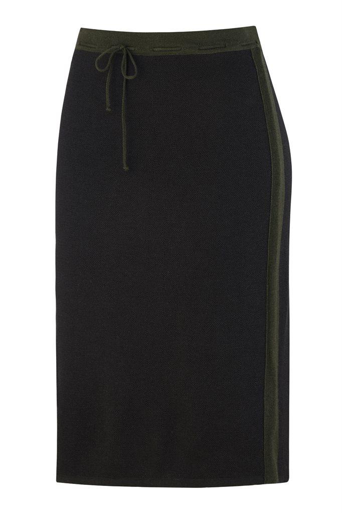 Bilbao Striped skirt - black (skirt)