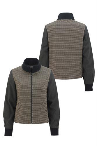The Cool jacket - brown pepita (jacket/cardigan)