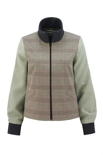 The Cool jacket - brown check (jacket/cardigan)