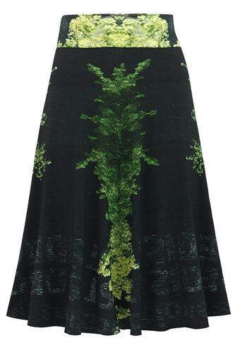 Print jersey skirt - manhattan green (skirt)
