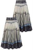 Print jersey skirt - manhattan wall (skirt)