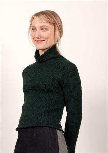Little Lamb sweater - bottle and garnet (sweater)