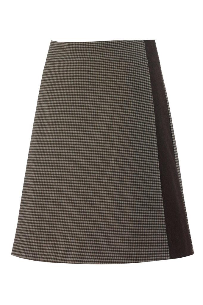 The Cool skirt - brown pepita (skirt)