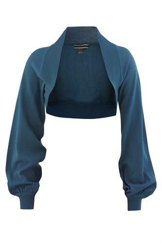 Summer magnolia bolero (jacket/cardigan)