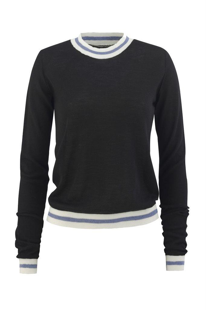 Summer sweater - black (sweater)
