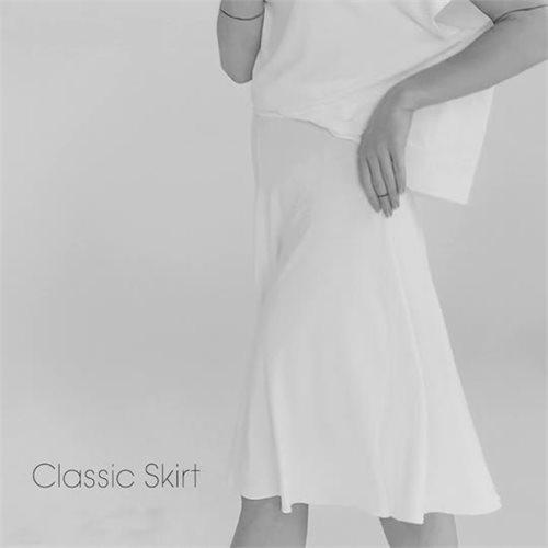 Classic Jersey skirt - black (skirt)