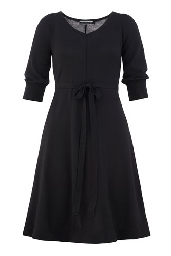 Classic Wide dress - black (dress)