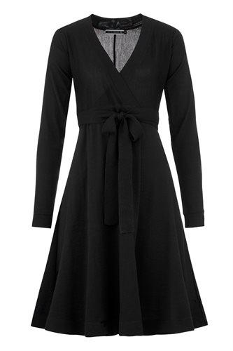 Classic Wrap dress - black (dress)