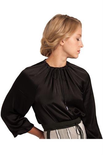 Shiny Puff Blouse (shirt)