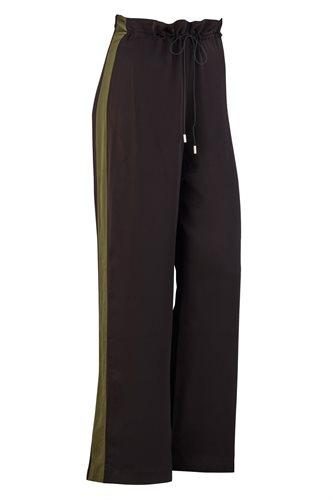 Shiny trousers - black (pants/shorts)