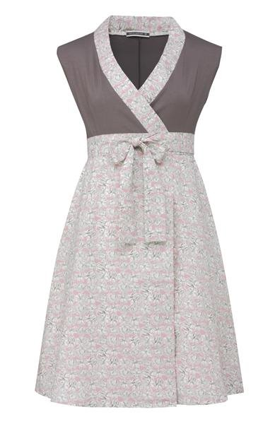 Liberty wrap dress - old rose (kjole)