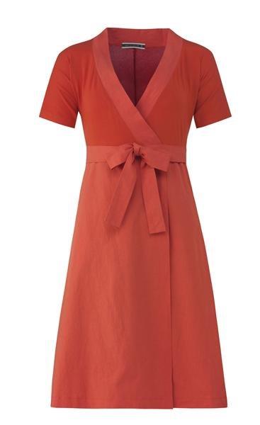 pop wrap dress (kjole)