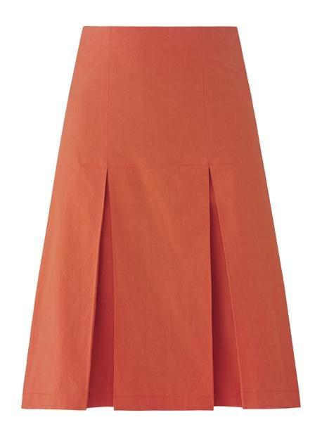 pop skirt - orange rust (skjørt)